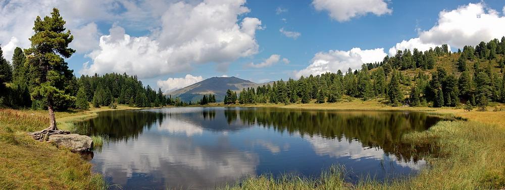 3-Seen-Rundweg auf der Turracher Höhe