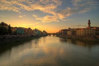 Firenze - Ponte Vecchio at Dusk