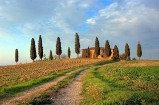 Toscana - Postkartenhaus