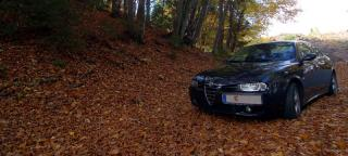 Alfa 156 Herbstlaub