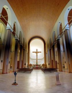 Kirche Timau - Innen