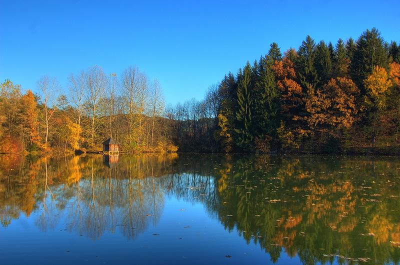 Goldener Herbst – Am Moosburger Mühlteich