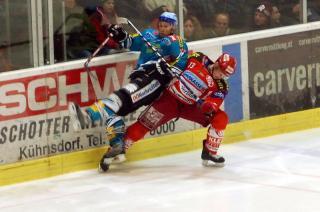 Einsatz beim Hockey