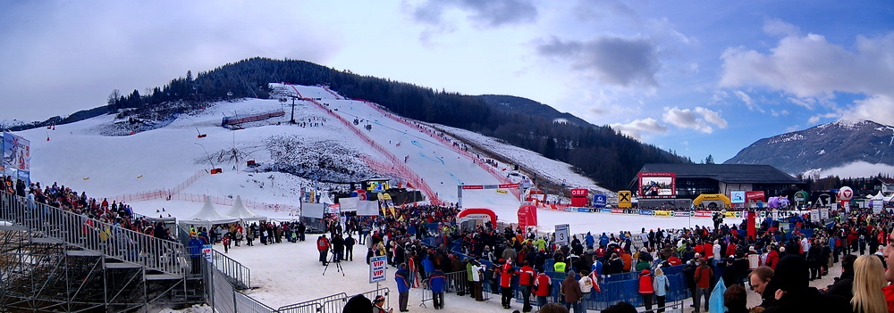 Beim Ski-Weltcup 2007