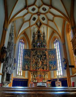 Heiligenblut Kirche Altar