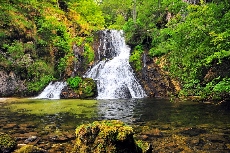 Wasserfall von Goriuda