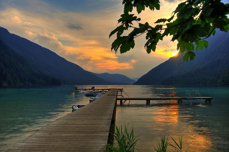 Tauchen am Weißensee