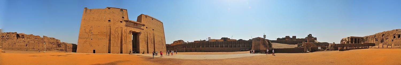 Horus-Tempel in Edfu