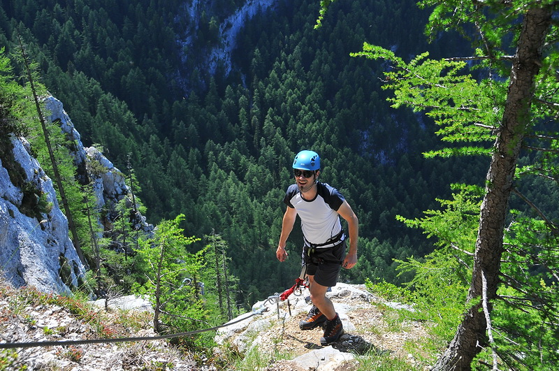 Am Walter Mory Klettersteig