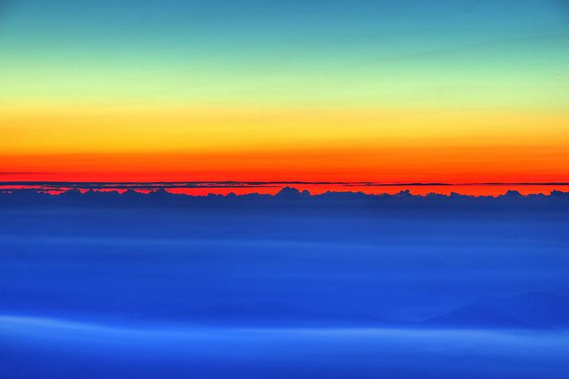 Sonnenaufgang auf über 2.000 Metern Seehöhe