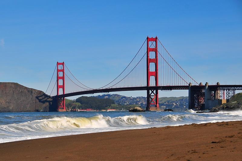 Golden Gate – einmal vom Süden
