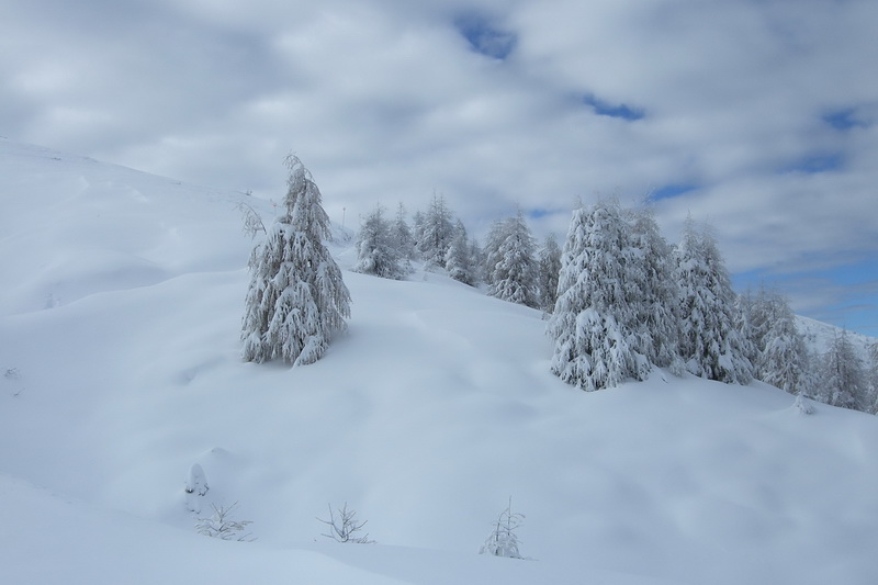 Erster Schnee – am Nationalfeiertag
