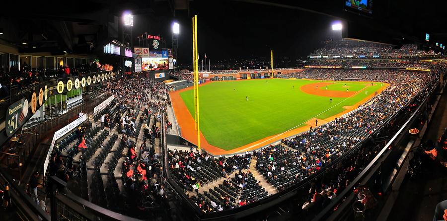 Baseball im AT&T Park
