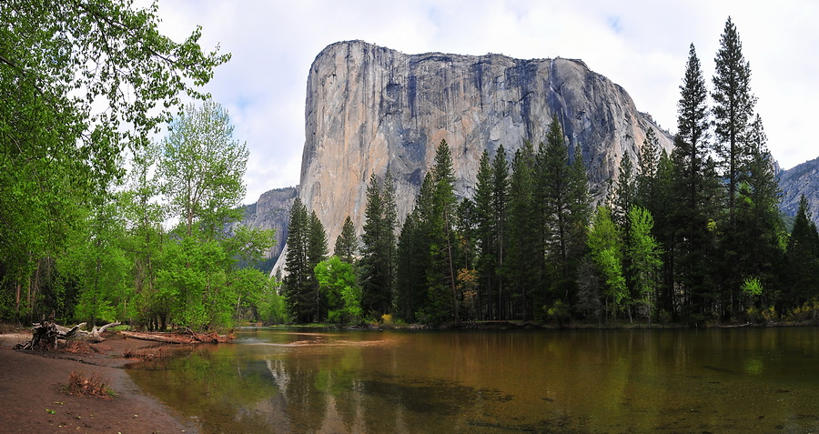 Yosemite Valley im Frühling