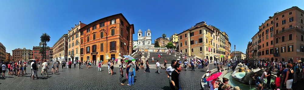 Piazza di Spagna und Spanische Treppe