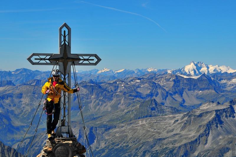 Hochalmspitze (3.360) über Detmolder Grat