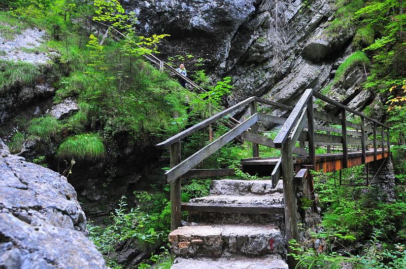 Martuljek-Wasserfälle