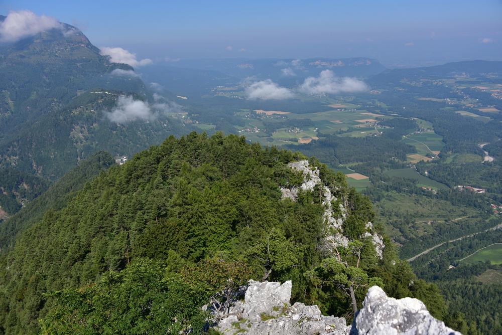 Überschreitung Sittersdorfer Berg (1.064) zum Jegartkogel (1.263)