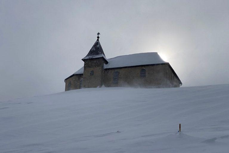 Einsame Skitour auf den Dobratsch (2.166)