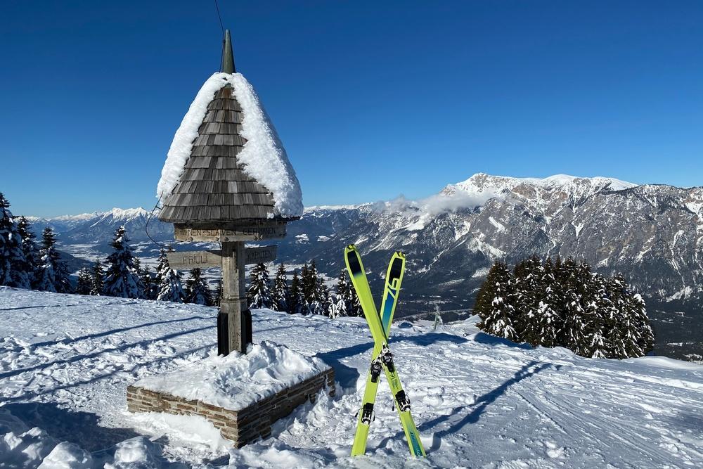 Skitour Dreiländereck (1.508) über Petrinjakgraben