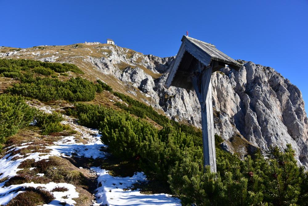 Dobratsch (2.166) Westanstieg mit Kuhriegel