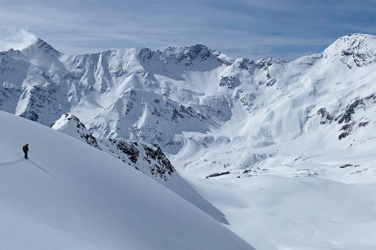 Skitour Romatenspitze (2.696)