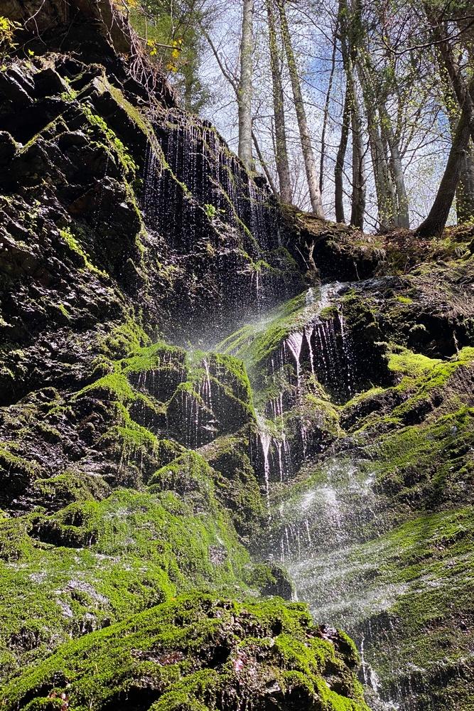 Steindorfer Wasserfall und Ossiachberg (921)