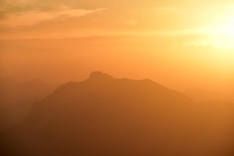 Sonnenuntergangstour Hühnerkogel (2.034) und Mittagskogel (2.145)