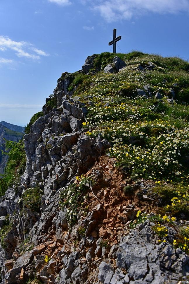 Geißberg (2.024), Östliche Edelweißspitze und Bielschitza (1.959)