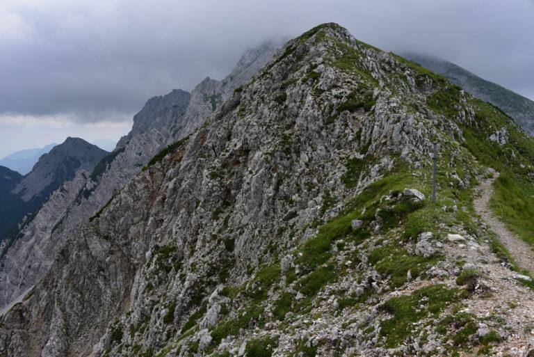 Vom Bodental über den Hochstuhl (2.225), Weinasch (2.104) und Kahlkogel (1.834) nach Rosenbach