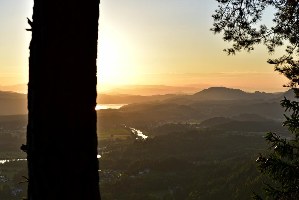 Sonnenaufgang am Bleiberg