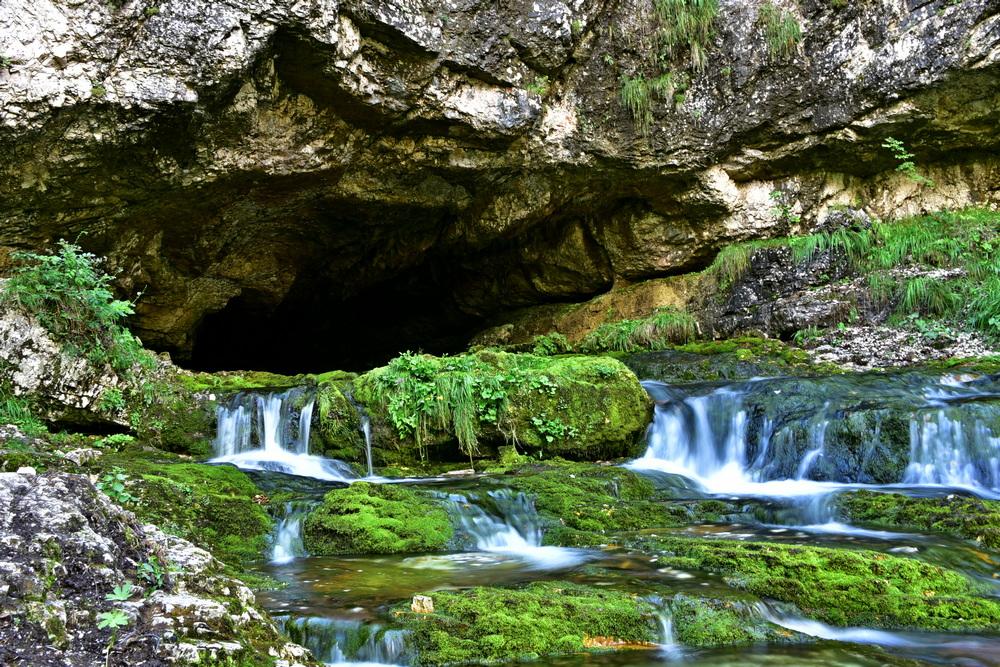 Quelle des Fontanon di Goriuda